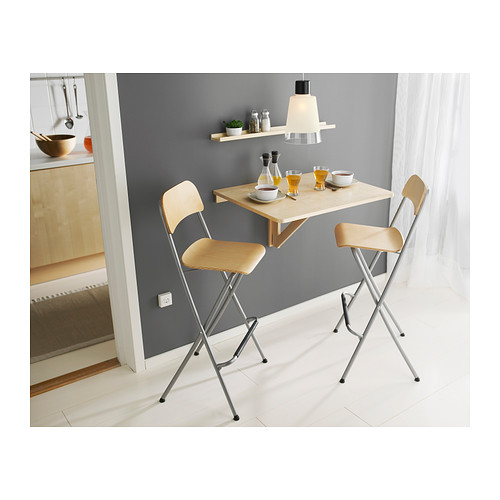tabouret de bar pliable pratique et minimaliste. Black Bedroom Furniture Sets. Home Design Ideas