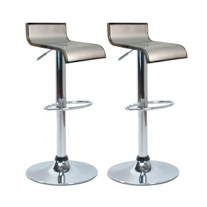 tabouret de bar gris sobri t et petit prix. Black Bedroom Furniture Sets. Home Design Ideas