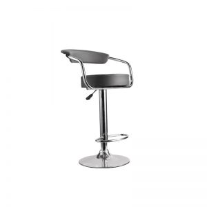 Tabouret de bar assise arrondie